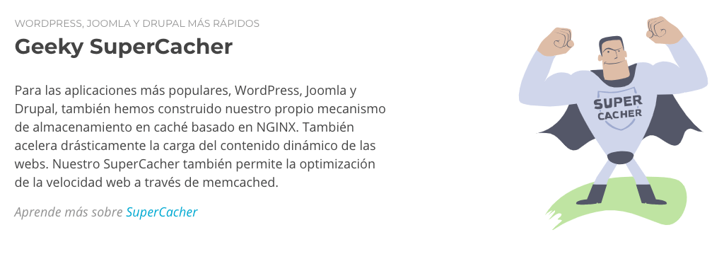 SuperCacher de SiteGround para WordPress